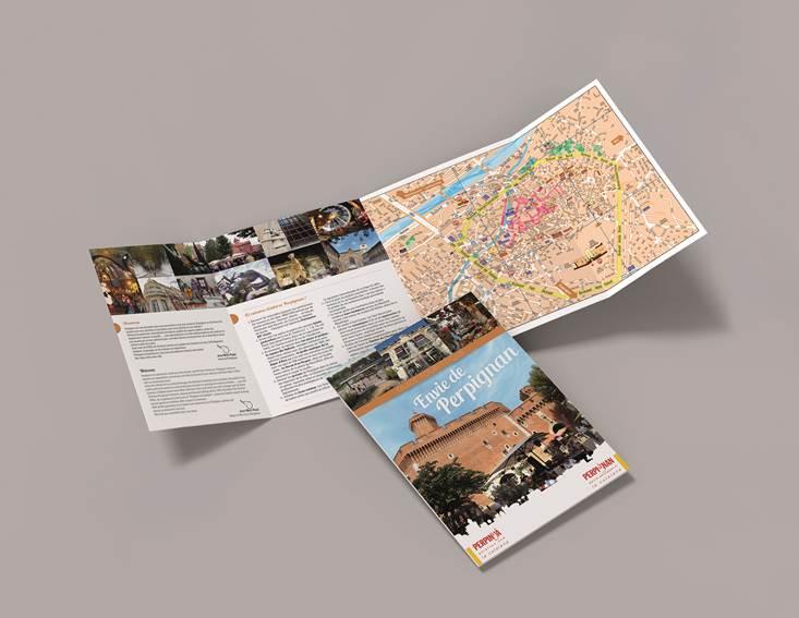 Brochure touristique Envie de Perpignan - Ville de Perpignan