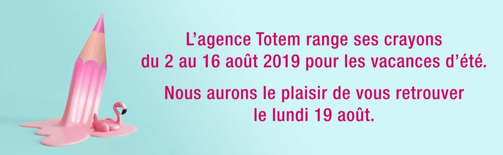 Bannière Agence Totem Eté 2019