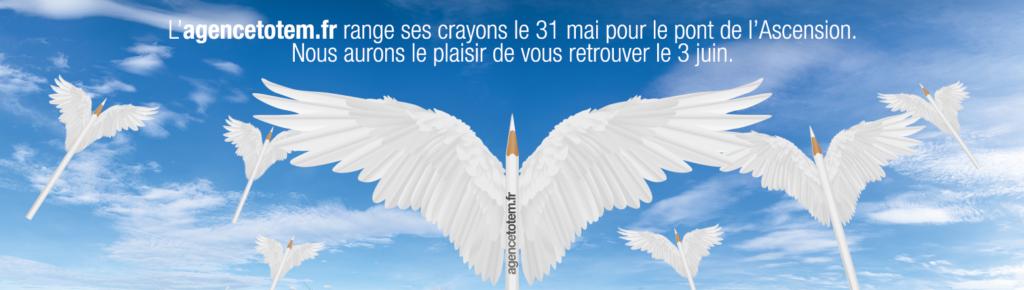 Bannière Agence Totem Pâques 2019